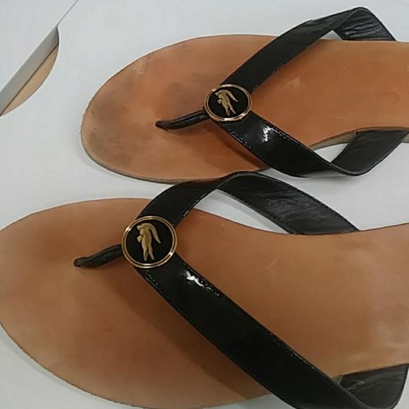 lacoste womens flip flop sandals